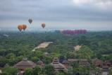 orientelballooning in Bagan