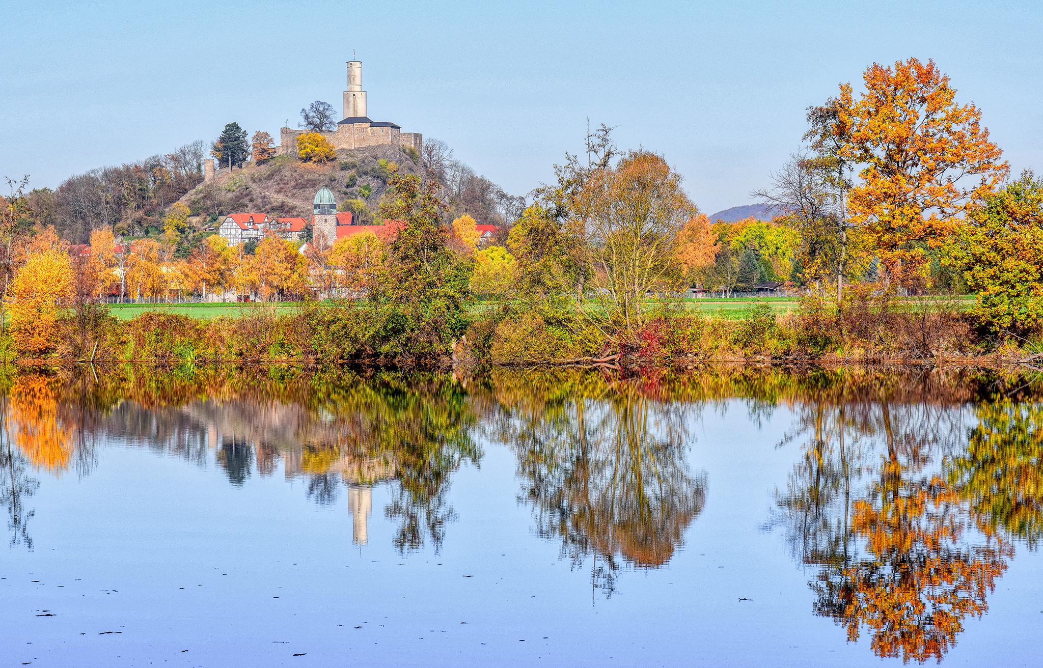 Felsburg im November
